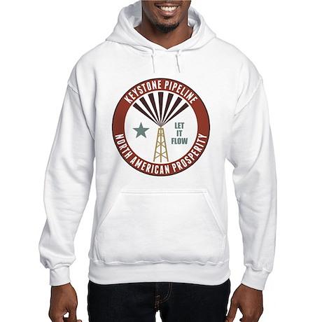 Keystone XL Pipeline Hooded Sweatshirt