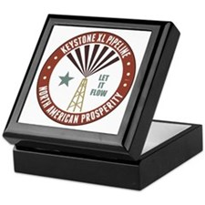 Keystone XL Pipeline Keepsake Box