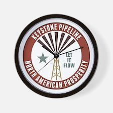 Keystone XL Pipeline Wall Clock