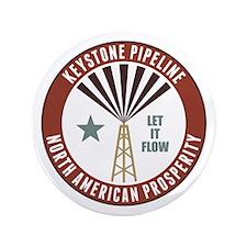 "Keystone XL Pipeline 3.5"" Button"