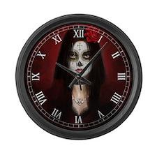 Pretty Dead Large Wall Clock