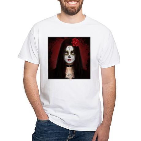 Pretty Dead White T-Shirt