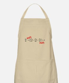 """Heat Equation with red """"HOT"""" Apron"""