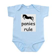 ponies rule Infant Creeper