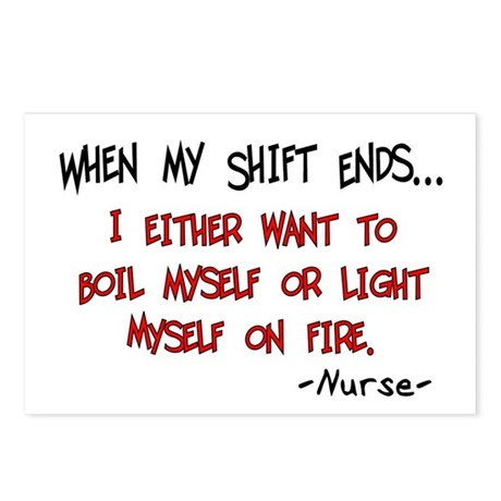 Nurse Humor Postcards (Package of 8)