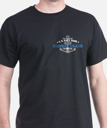 US Navy Whidbey Island Base T-Shirt