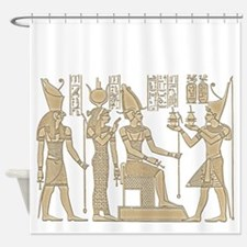 Vintage Egyptian Panel Shower Curtain
