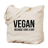 Vegan Regular Canvas Tote Bag