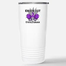 Knock Out Cystic Fibrosis Travel Mug