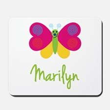 Marilyn The Butterfly Mousepad