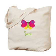 Sara The Butterfly Tote Bag