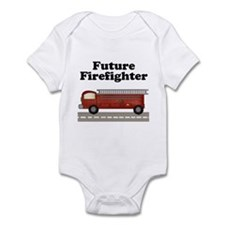 Future Firefighter Infant Creeper