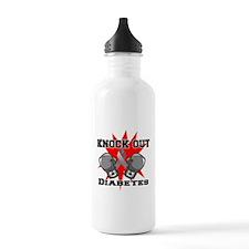 Knock Out Diabetes Water Bottle