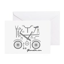 Bike Assembly Greeting Cards (Pk of 20)
