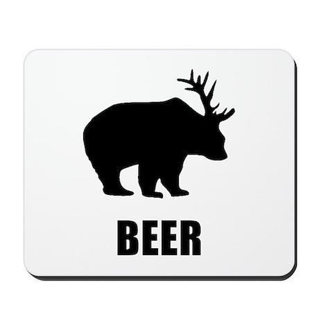 Beer Bear Mousepad