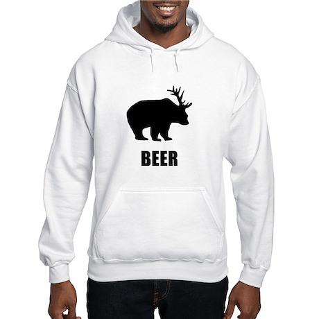 Beer Bear Hooded Sweatshirt