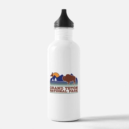 Grand Teton National P Water Bottle