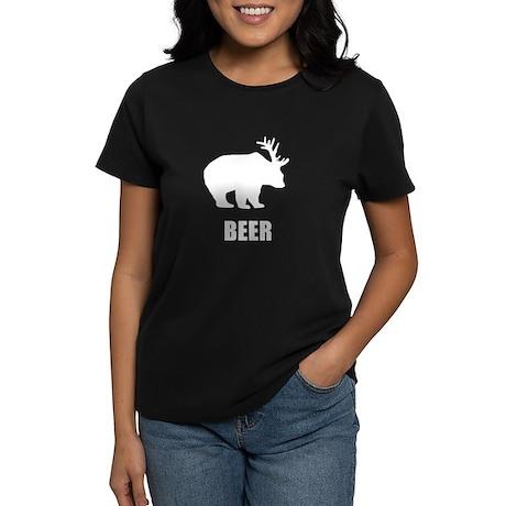 Beer Bear Women's Dark T-Shirt