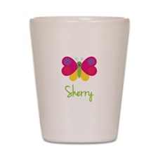 Sherry The Butterfly Shot Glass