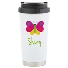 Sherry The Butterfly Travel Mug