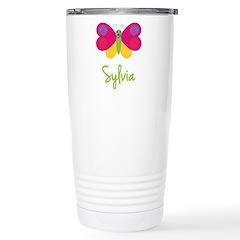 Sylvia The Butterfly Travel Mug