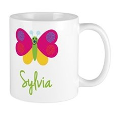 Sylvia The Butterfly Small Mugs
