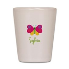 Sylvia The Butterfly Shot Glass