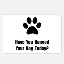 Hugged Dog Postcards (Package of 8)