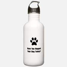 Hugged Dog Water Bottle