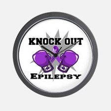 Knock Out Epilepsy Wall Clock