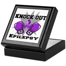 Knock Out Epilepsy Keepsake Box
