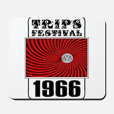 Trips Festival 1966 Retro Mousepad
