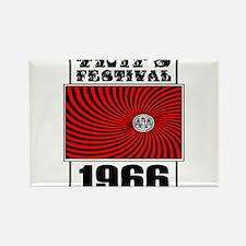Trips Festival 1966 Retro Rectangle Magnet