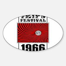 Trips Festival 1966 Retro Decal