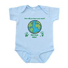 Unique Recycled Infant Bodysuit