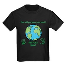 Cute Recycle earth T