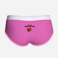 Ducky makes my heart throb Women's Boy Brief