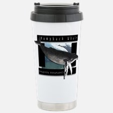 HumpBack Whale Art Travel Mug