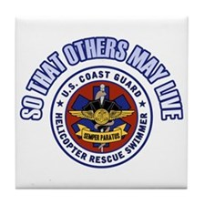 That Others May Live Tile Coaster