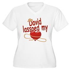 David Lassoed My Heart T-Shirt