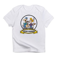 WORLDS GREATEST DAIRY FARMER Infant T-Shirt
