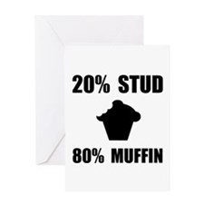 Mostly Muffin Greeting Card