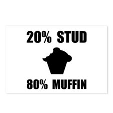 Mostly Muffin Postcards (Package of 8)