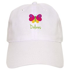 Dolores The Butterfly Baseball Cap