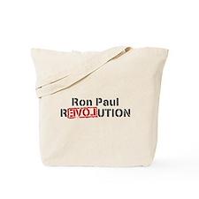 Cute Ron paul revolution Tote Bag