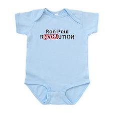 Cute Ron paul revolution Infant Bodysuit