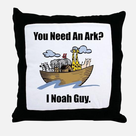Noah Guy Throw Pillow