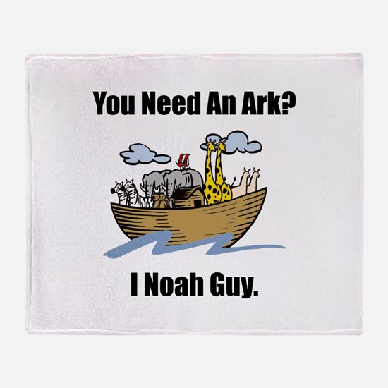 Noah Guy Throw Blanket