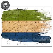 Sierra Leone Flag Puzzle
