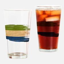 Sierra Leone Flag Drinking Glass